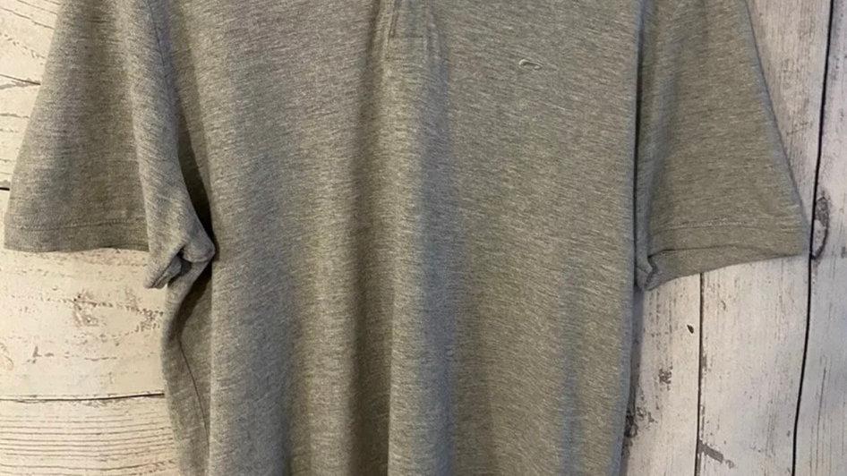 Mens Jack & Jones Grey Polo Neck T-shirt Size XL - Excellent Condition