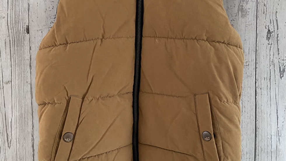 Boys Next Mustard Padded Bodywarmer Gilet Age 8 Years - Excellent Condition