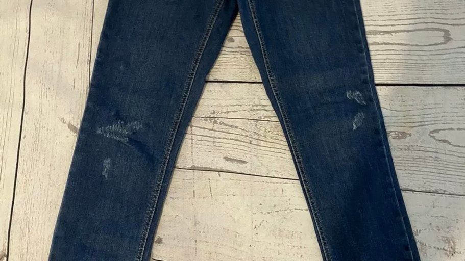 Girls New Look Blue Denim Jeans Jeans Age 12 Years - Immaculate