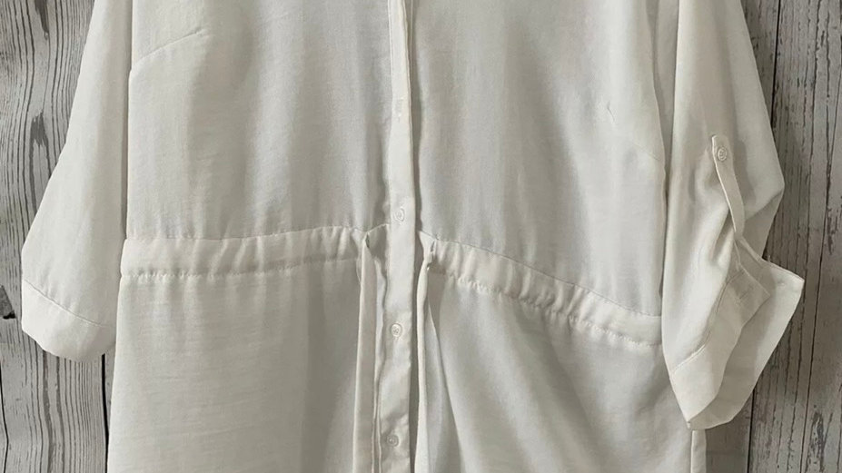 Womens / Ladies Primark White Blouse Top Size 12 Immaculate Condition