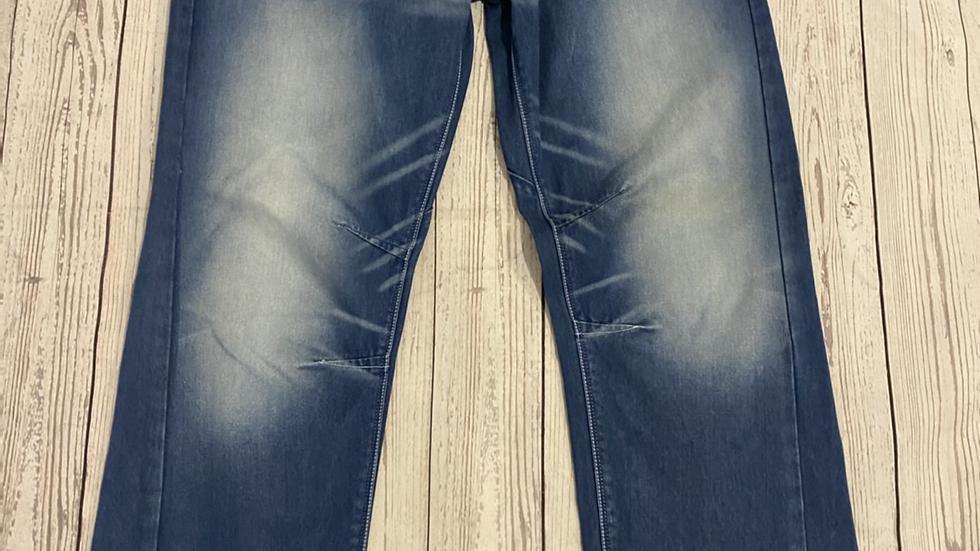 "Mens Voi Light Blue Denim Jeans Size 34"" Waist X 34"" Leg Immaculate Condition"