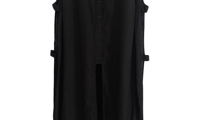 Womens / Ladies Simply Be Shirt Kaftan Cut Out Sides Size Large NEW