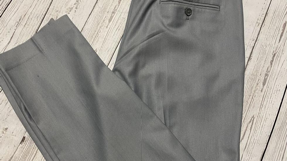 "Men's River Island Grey Smart Formal Trousers Size 36"" Waist 32 "" Leg Immaculate"