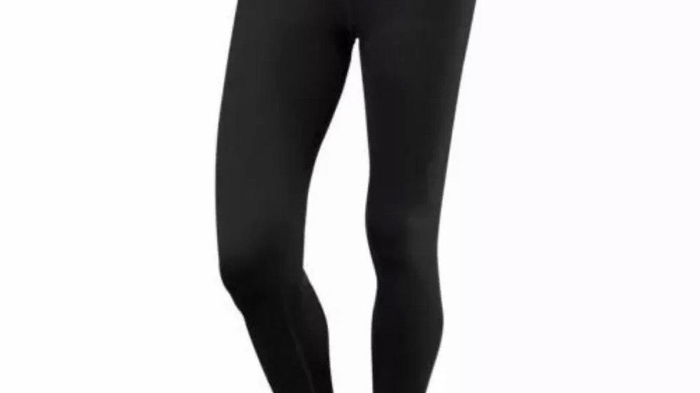 TCA Women's Running Gym Leggings Yoga Waist Bottoms Zip Pocket XS Black Pink