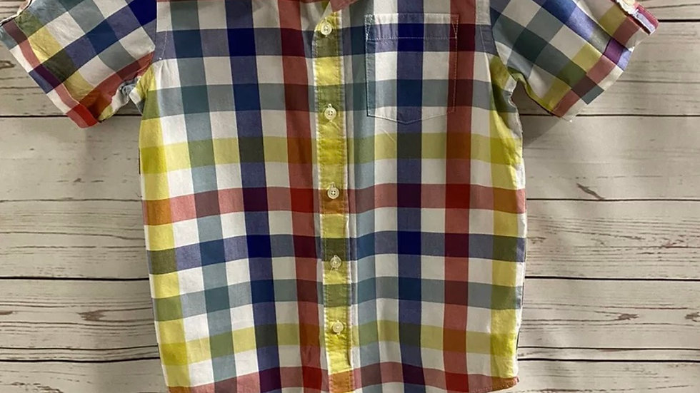 Boys Gap Multi Coloured Check Age 6-7 Years Immaculate Condition