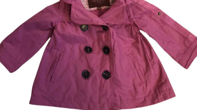 Girls Ted Baker Pink Coat Age 12-18 Month Excelent Condition