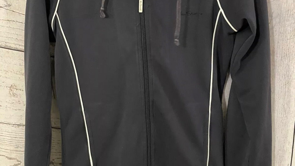 Womens / Ladies Ben Sherman Navy Tracksuit Zip Top Size Small - Good Condition