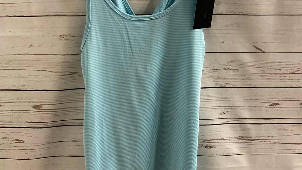 Womens / Ladies Tca Blue Stripe Vest Top Size Xs Brand New With Tags