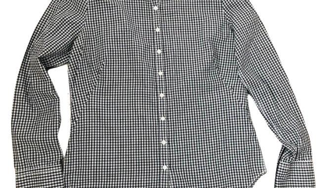 Womens / Ladies Levi Strauss & Co Check Black White Shirt Size Large