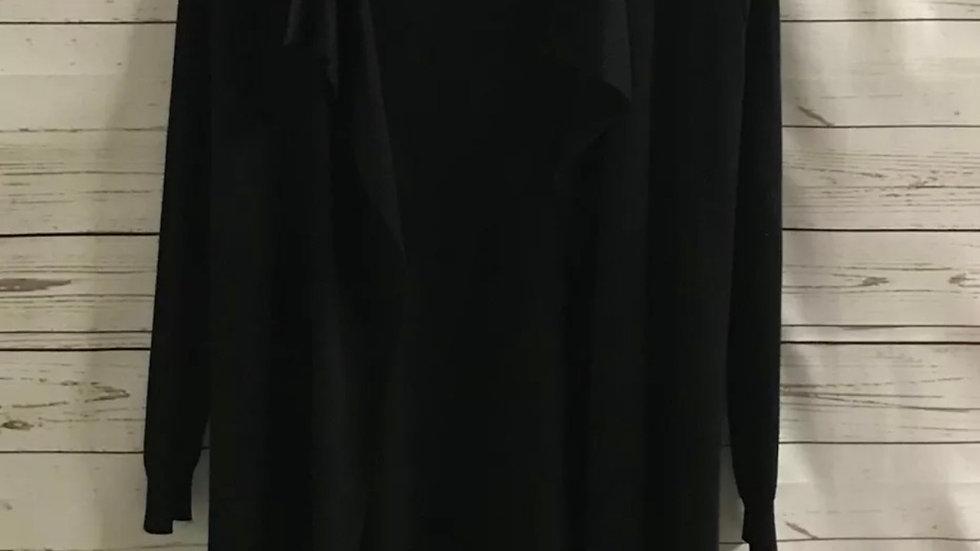 Women's / ladies Marks & Spencer Blaxk waterfall cardigan size 10