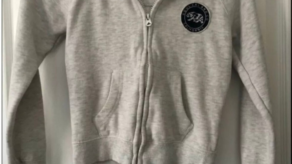 Boys Soulcal & Co Grey Hoodie Top Age 7-8 Years - Immaculate Condition