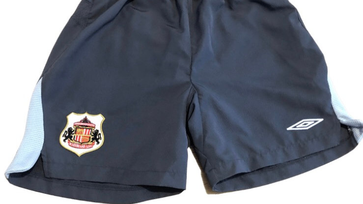Boys Sunderland Grey Swimming Shorts Age 11-12 Years 152 Excellent Condition