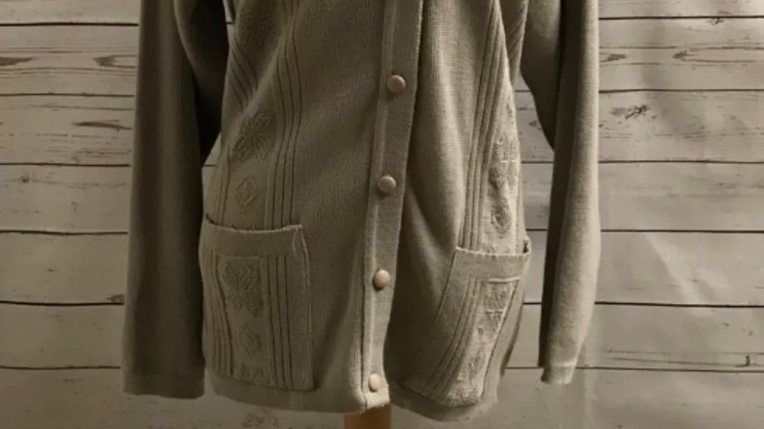 Women's / ladies mocha Fresh Look cardigan size M/L