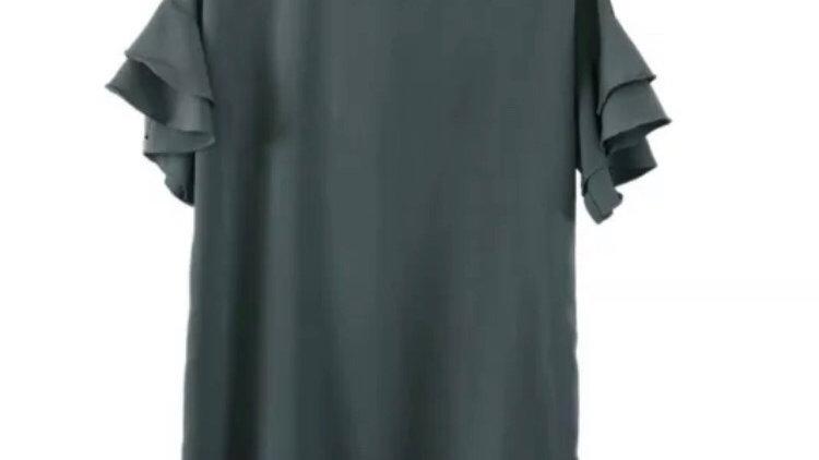 Womens / Ladies Zara Basic Green Dress Size Medium - Excellent Condition