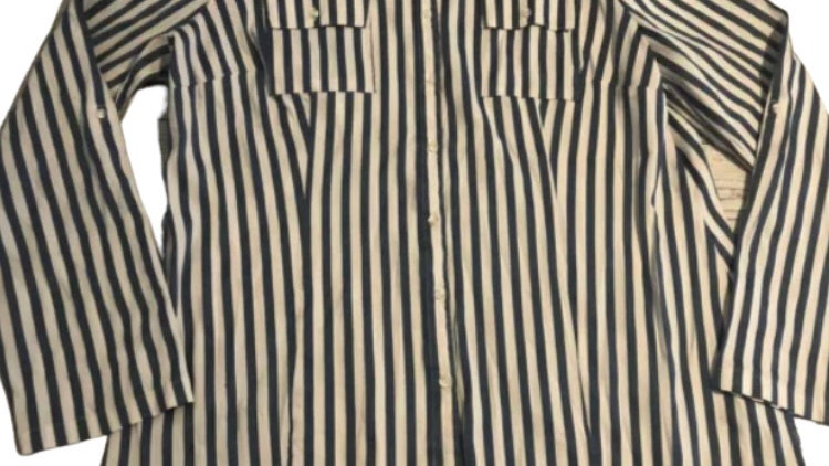 Womens / Ladies Next Blue White Long Sleeve Shirt Size 20 Immaculate