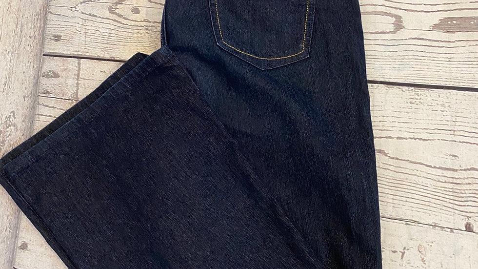 Womens / Ladies Marks & Spencer Boot Leg dark Blue size 12 Short Good Condition