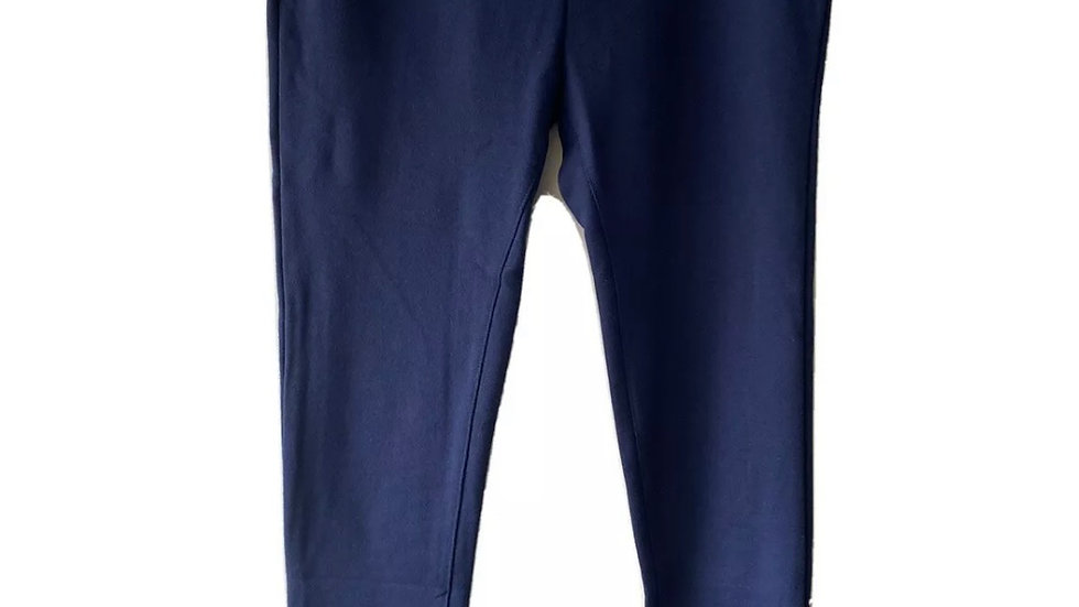 Mens Navy Blue Jogging Bottoms Pants Size Large New With Tags