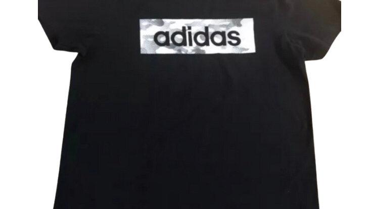 Mens Adidas Black Short Sleeve T-Shirt Size Medium - Immaculate