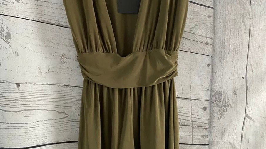 Womens / Ladies Missguided Khaki Green Playsuit Size 6 New With Tags