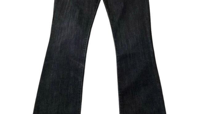 Womens / Ladies Next Bootcut Blue Denim Jeans Size 8 long Excellent Condition