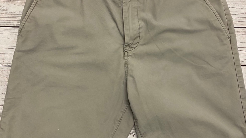 "Mens Matalan Chino Grey Shorts Size 34"" Waist - Excellent Condition"