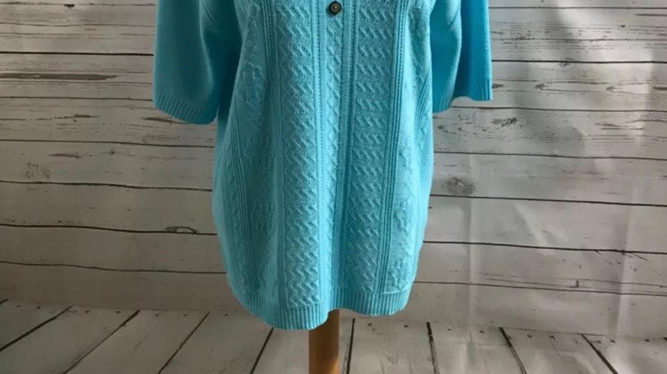 Women's / ladies light blue glimpse jumper size L/XL new