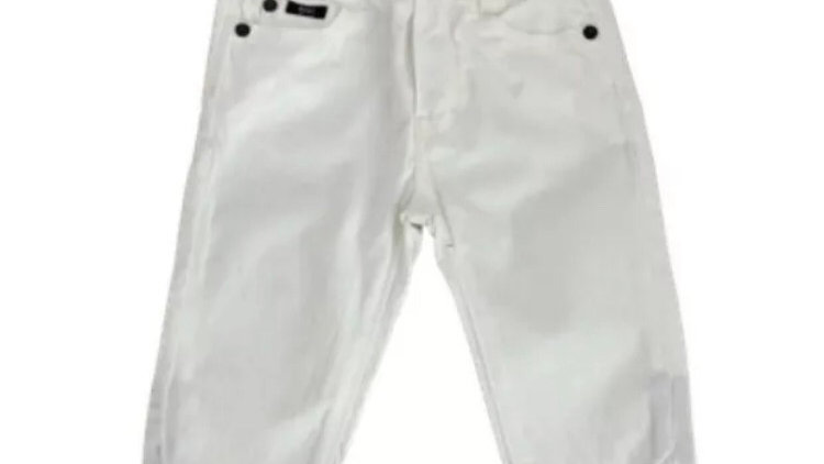 Baby Boys Hugo Boss White Denim Jeans Age 6 Months Good Condition