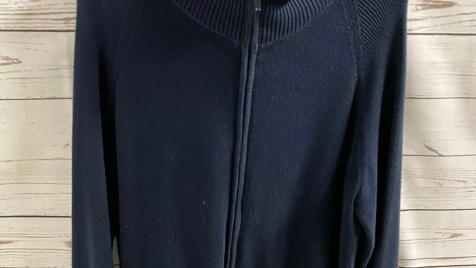 Womens / Ladies Bonmarche Navy Cardigan Size XL Good Conditon Approx 20