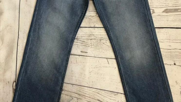 "Mens Denim & Co Light Blue Straight Leg Denim Jeans Size 30"" X 30"" New With Tags"
