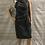 Thumbnail: Women's / ladies Grey George dress size 12 excellent condition