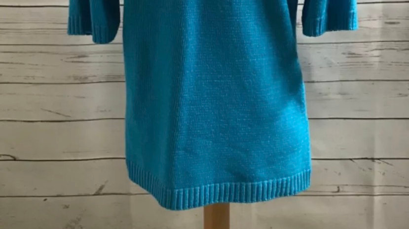 Women's / ladies blue Glimpse jumper size L/XL new