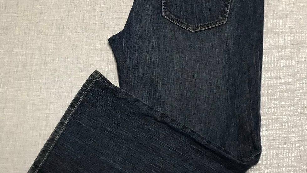 """Womens / Ladies DKNY blue Denim Cropped Jeans Size 31"""" Waist Immaculate"""