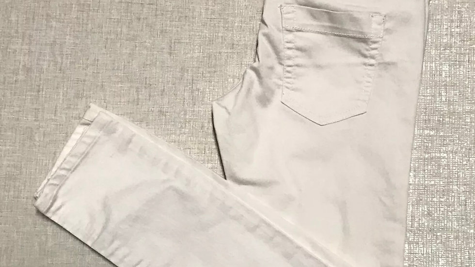 Womens / Ladies Denim & Co White Cropped Jeans Size 8 Immaculate Condition