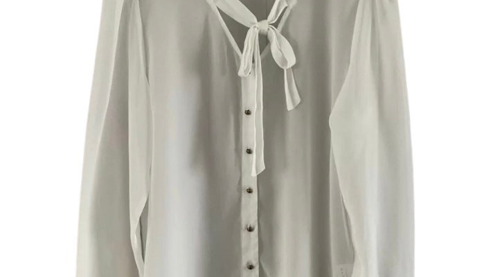Womens / Ladies Brave Soul White Button Blouse Top Size Medium Immaculate