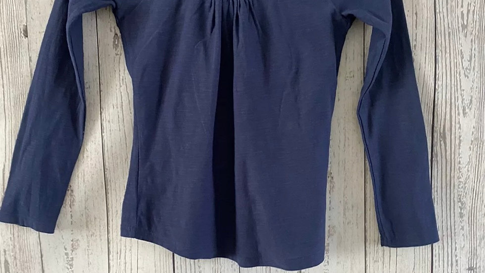 Girls Matalan Navy Blue Long Sleeve Top Age 9 Years Immaculate