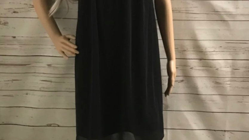 Women's / ladies Black Dorothy Perkins dress size 12 excellent condition