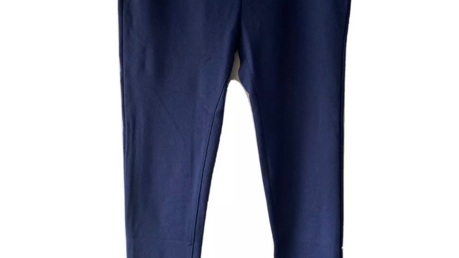 Mens Navy Blue Jogging Bottoms Pants Size medium New With Tags