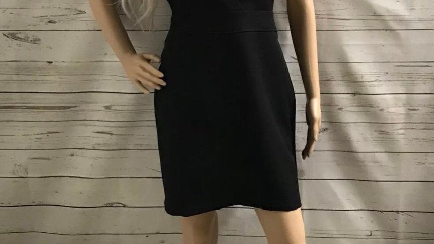 Women's / ladies miss selfridges black dress size 12 excellent condition