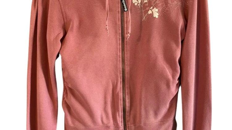 Womens / Ladies Bench Pink Full Zip Jacket Size Medium - Good Condition
