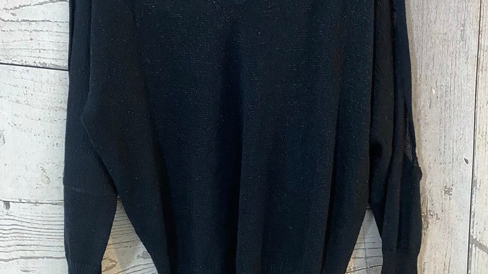 Womens / Ladies Next Blue Sparkle Jumper Top Size 6 Immaculate