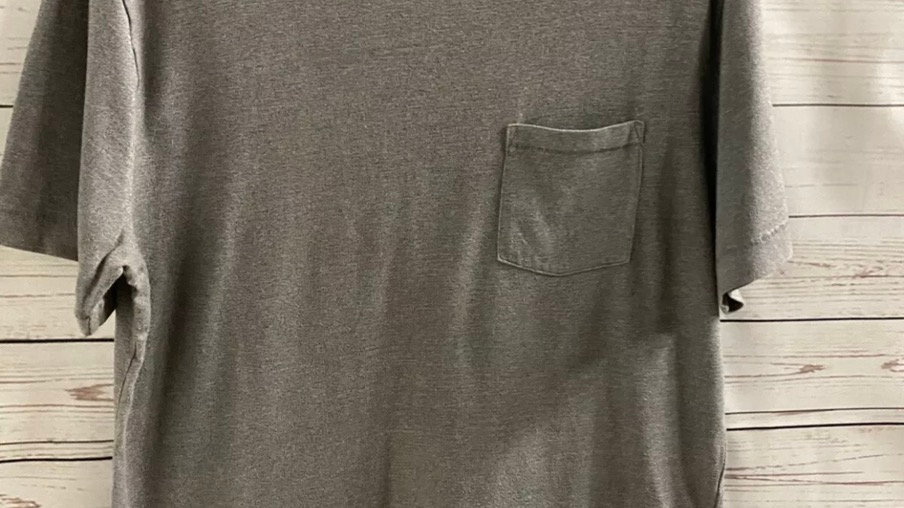 Mens Gap Grey Short Sleeve T-Shirt Size Medium - Excellent Condition