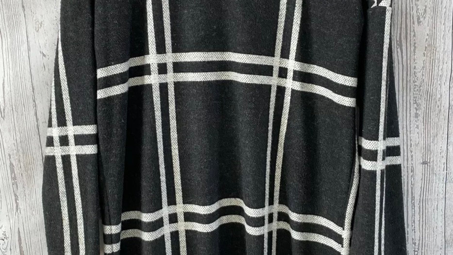 Womens / Ladies F&F Black White Jumper Size 10 Excellent Condition