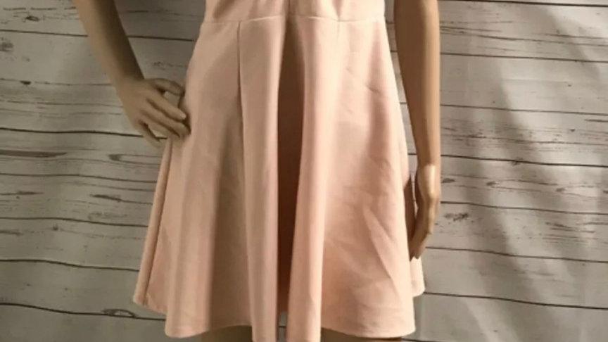 Women's / ladies peach/nude River Island dress size 12 excellent condition