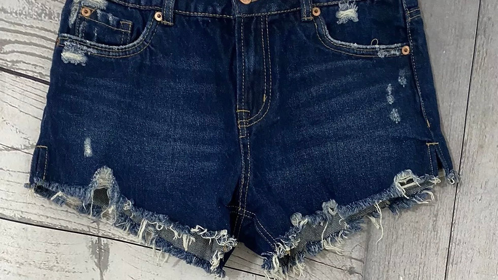 Women's / Ladies  New Look Blue Denim Hotpants Size 8 Immaculate