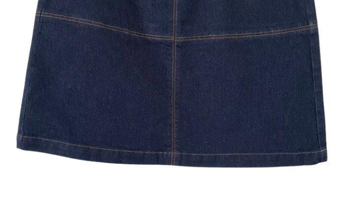 Womens / Ladies Matalan Denim Blue Short Skirt Size 12 Excellent Condition