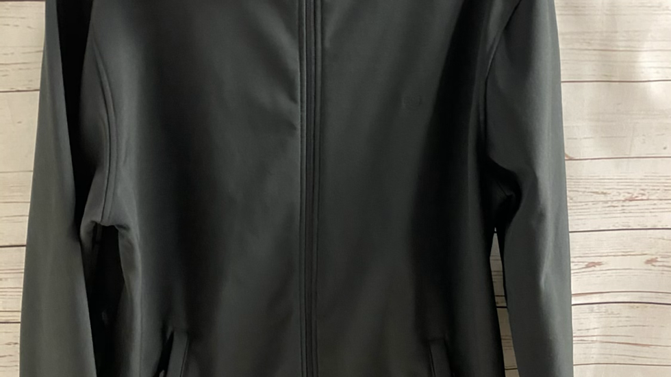 Mens Lincoln Black Full Zip Jacket Size Medium - Immaculate Condition