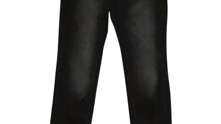 Womens / Ladies Denim & Co Black Denim Skinny Jeans Size 14 Immaculate