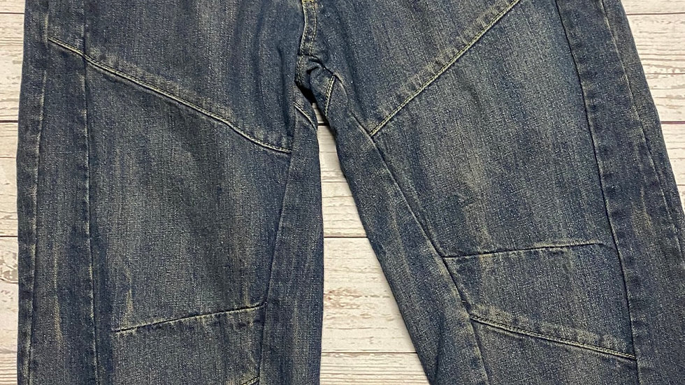 """Mens Blue Denim Long Shorts Size 32"""" Regular Immaculate Condition"""