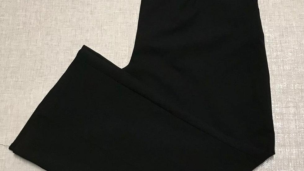 "Women's / Ladies George Black Trousers Size 18 Leg 30"" Standard Leg - Immaculate"