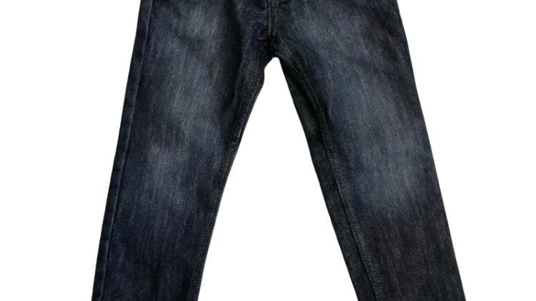 Boys Denim & Co Blue Denim Jeans Age 3-4 Years Excellent Conditon